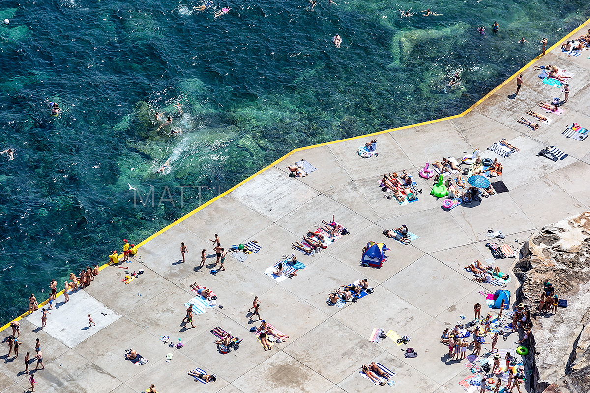 Clovelly Beach Aerial Images
