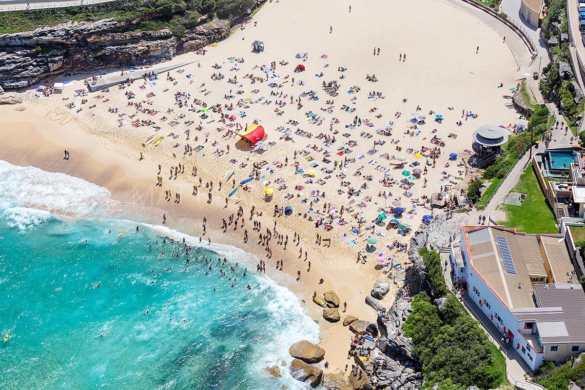Tamarama Beach Aerial Images Sydney