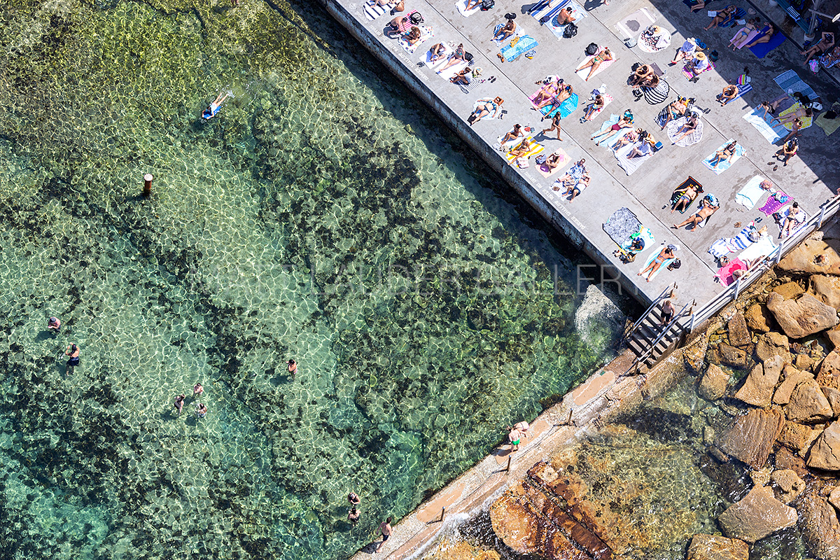 Wylies Ocean Baths Aerial Images
