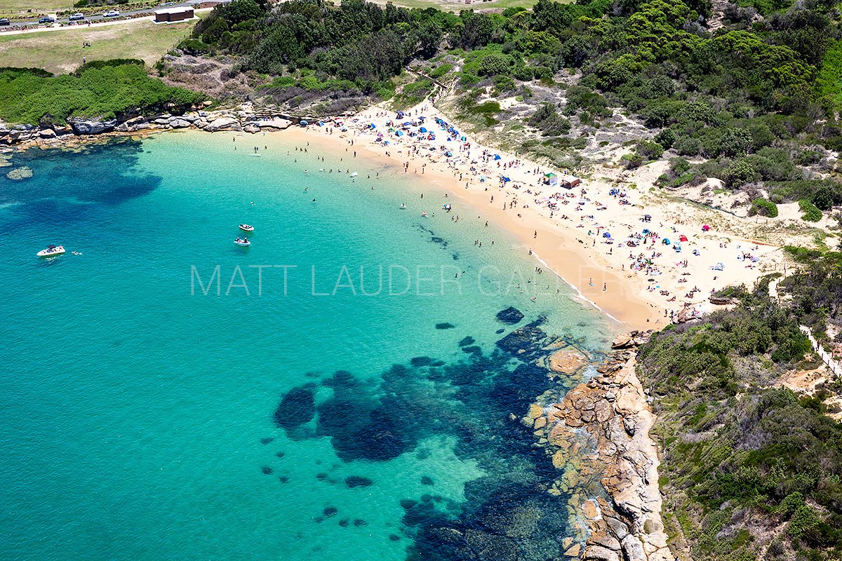 Congwong Beach - La Perouse Aerial images Eastern Beaches Sydney