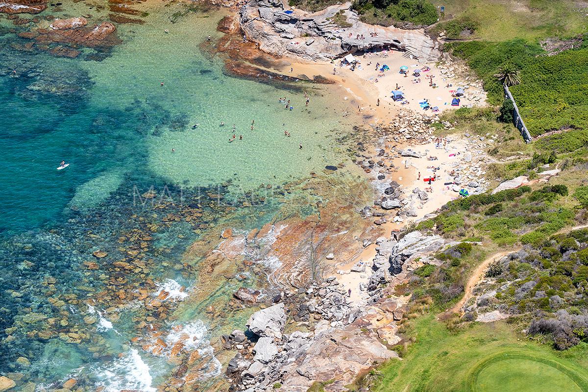 Little Bay Beach Aerial Prints