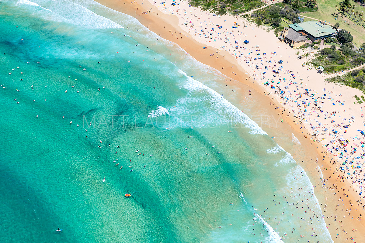 Freshwater Beach Wide Angle Aerial Images