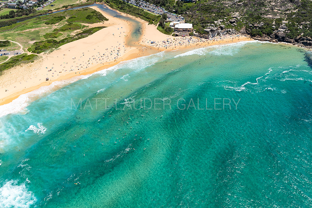 North Curl Curl Beach Aerial Photos