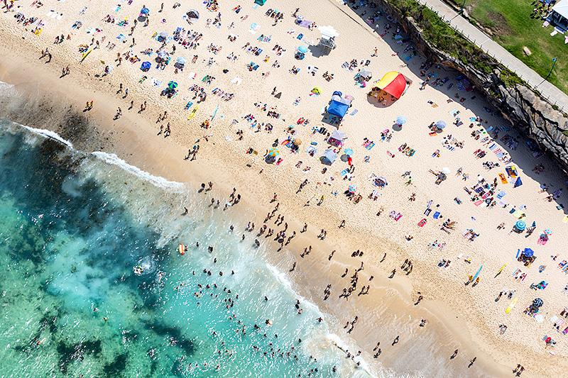 Bronte Beach Aerial Photos