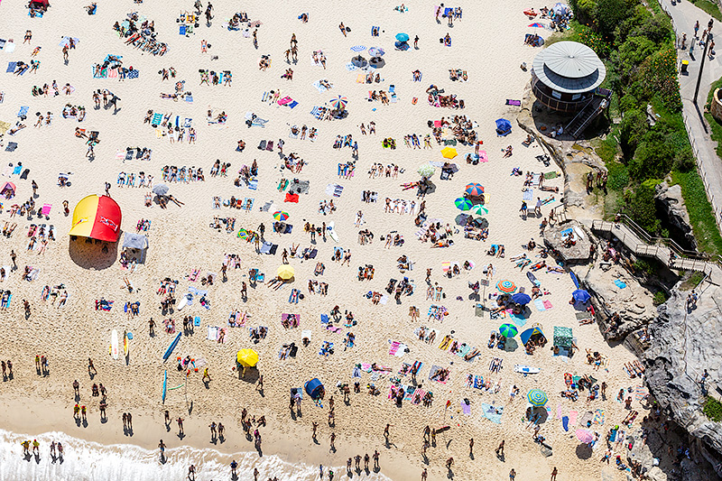 Tamarama Beach Aerial Photography