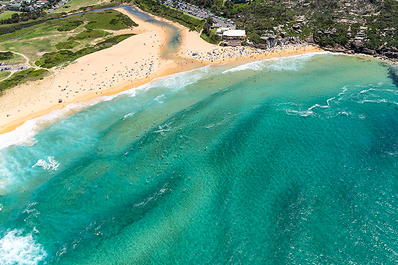 North Curl Curl Beach Aerial Images