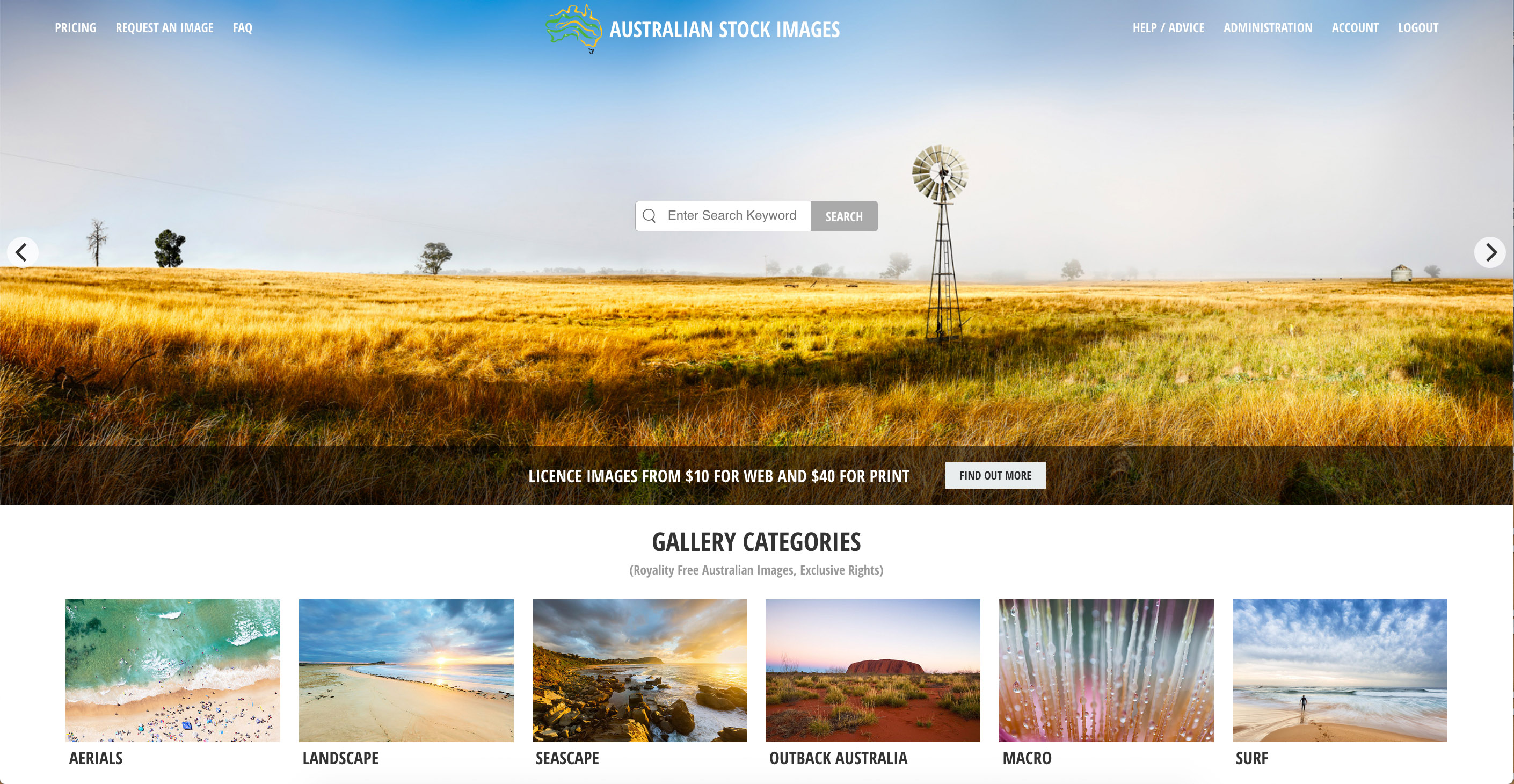 The Australian Stock Images Website
