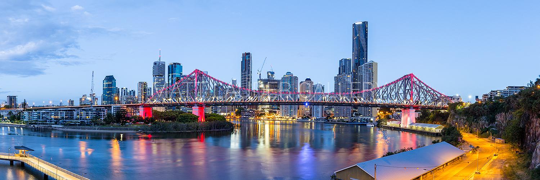 Story Bridge Brisbane Morning Pictures