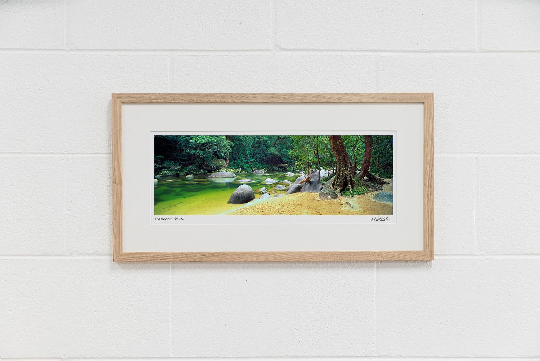 Mossman River Gorge Framed Photos Oak