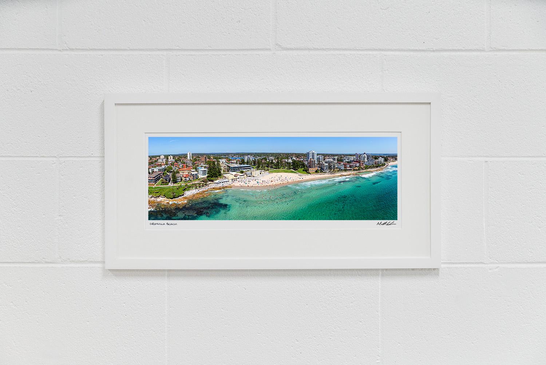 Cronulla Beach Framed Aerial Photos