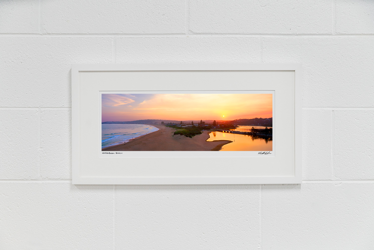 Narrabeen Beach Framed Photos - Ready to Go