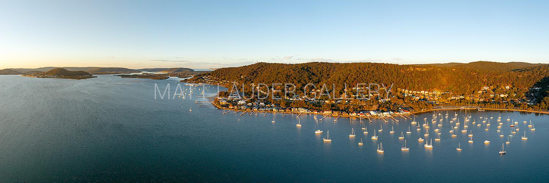 Koolewong Aerial Panoramic Art