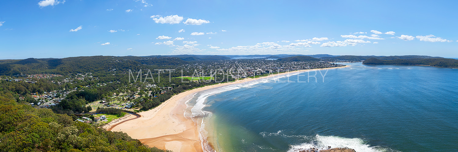 Umina Beach Panoramic Aerial Images