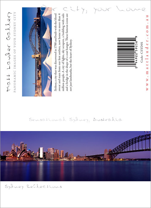 Sydney Greeting Cards