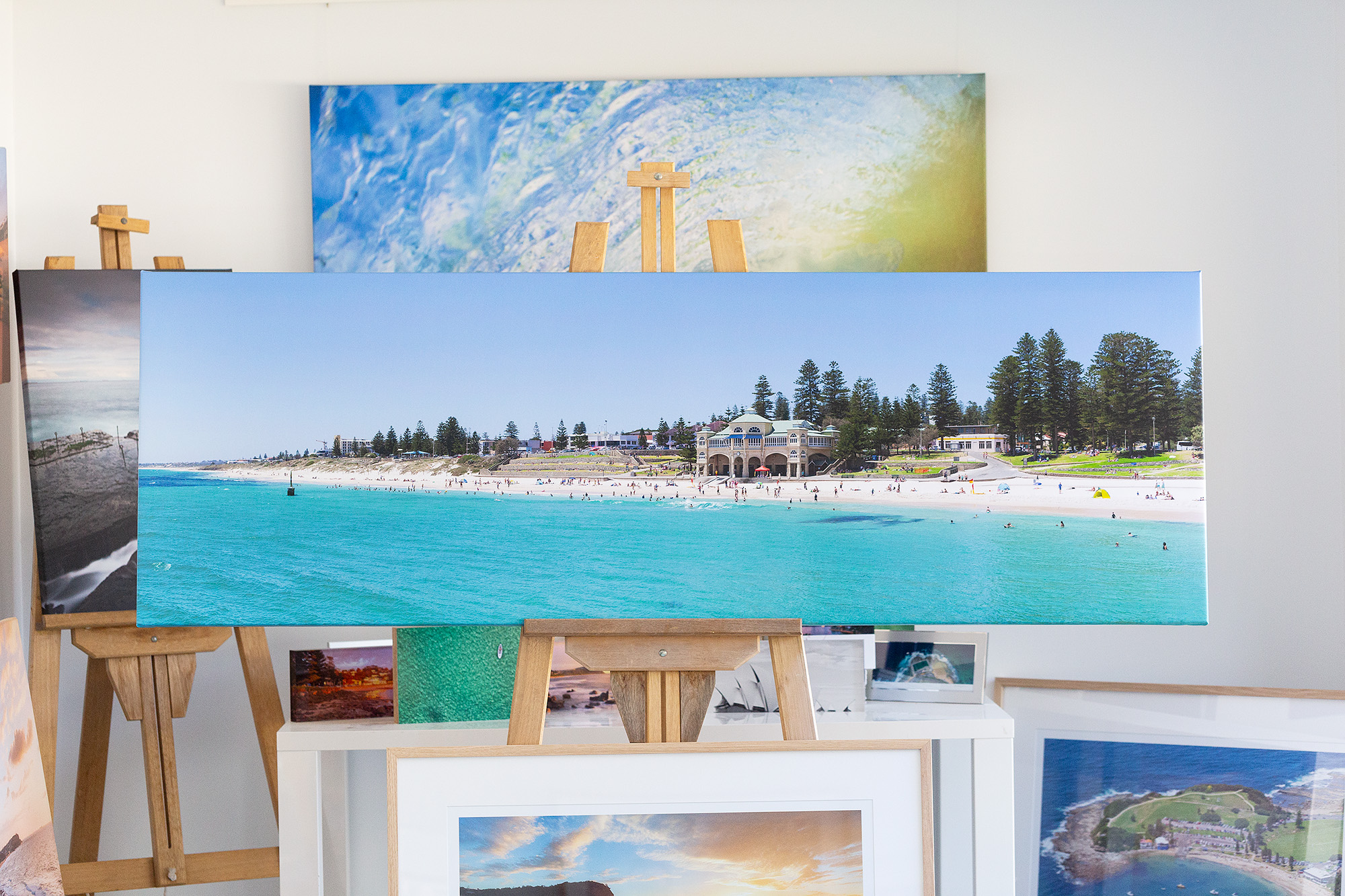 Cottesloe Beach Stretched Canvas Artwork