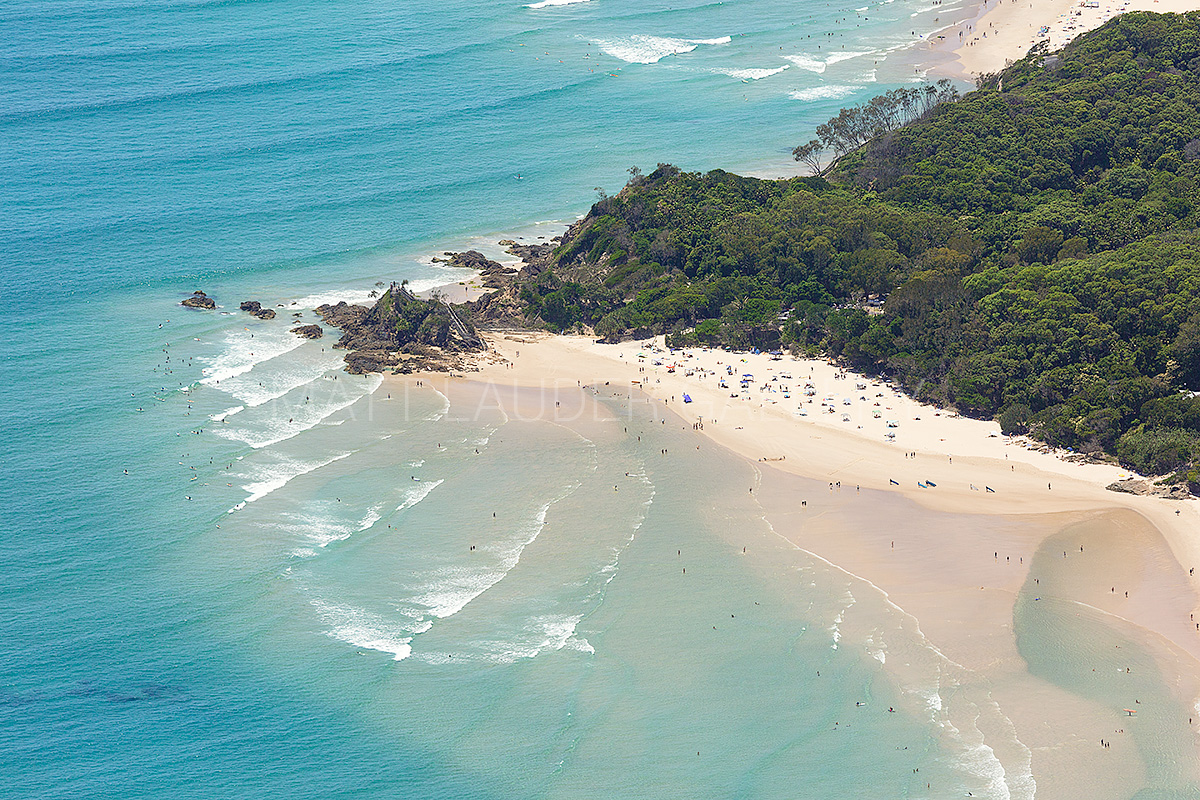 The Pass Byron Bay Aerial Photos