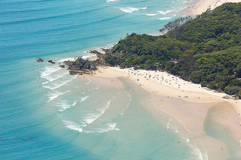 Byron Bay Aerial Photos - The Pass