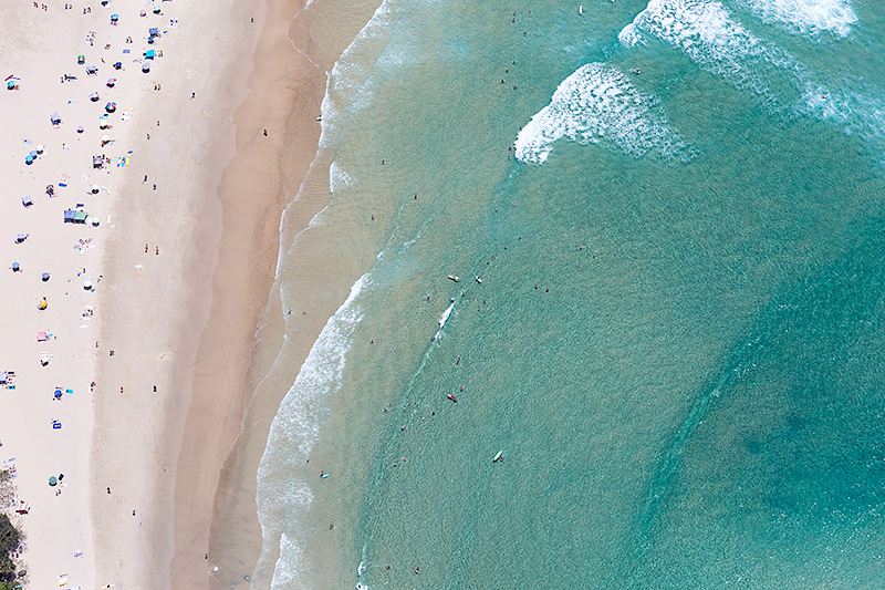 Wategos Beach Aerial Pictures