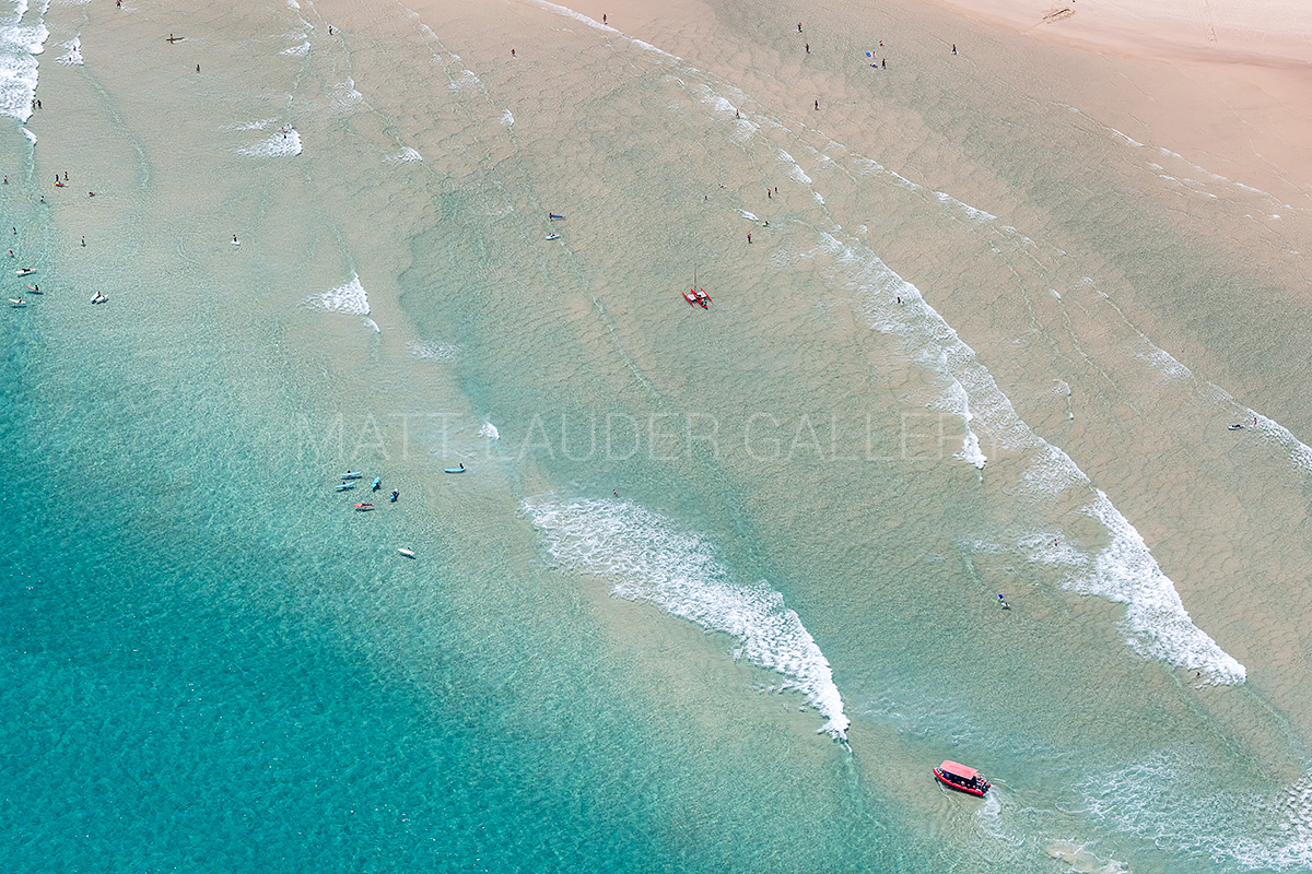 The Pass Aerial Beach Images