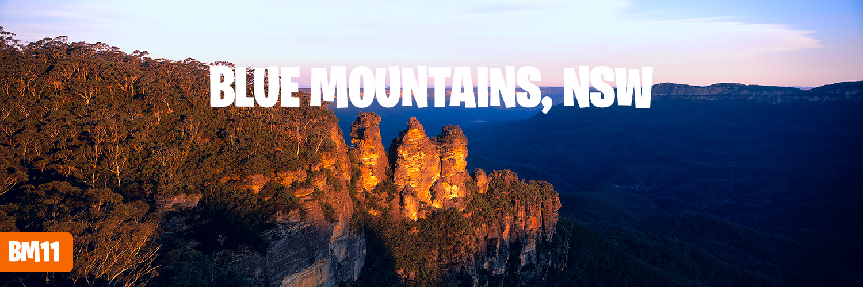 Photos of the Blue Mountains, Three Sisters, Leura Cascades, Wentworth Falls
