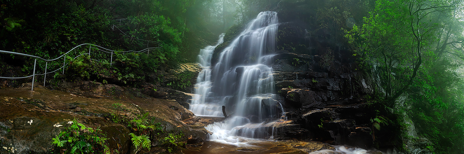Photos of Sylvia Falls, Valley of the Waters Walk, Blue Mountains